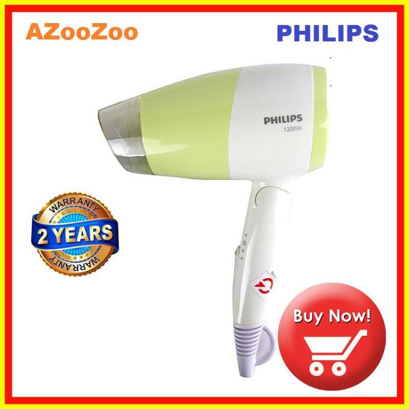 [Nhập ELMAY21 giảm 10% tối đa 200k đơn từ 99k]Máy sấy tóc mini philips BHC015/00 1200W chế độ làm mát an toàn thiết kế nhỏ gọn gấp lại được