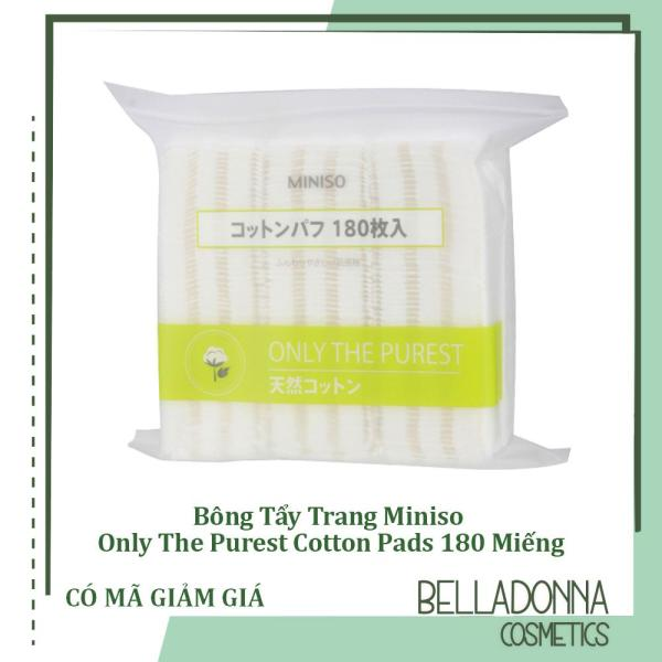 Bông Tẩy Trang Miniso Only The Purest Cotton Pads 180 Miếng giá rẻ