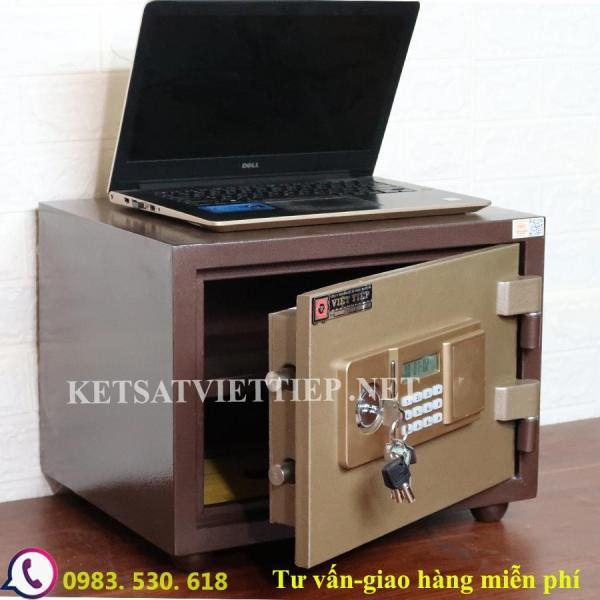 [CHINH HANG] Két sắt chống cháy Việt Tiệp VT33E ( khóa điện tử báo động )-45kg