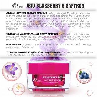 Kem face dưỡng trắng hồng Blueberry saffon thumbnail