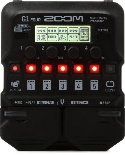 Phơ đàn Guitar Điện Zoom G1 Four