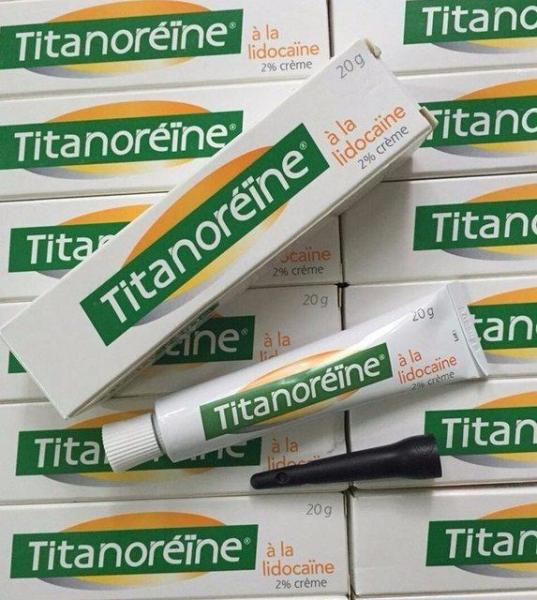 Kem bôi trĩ ngoại Titanoreine của Pháp (tuýp 20gr) giá rẻ
