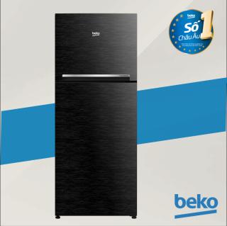 Tủ lạnh Beko Inverter RDNT200I50VWB - Thiết kế màu đen vân gỗ sang trọng - 188L - Hai dàn lạnh độc lập - Hàng chính hãng bảo hàng 2 năm