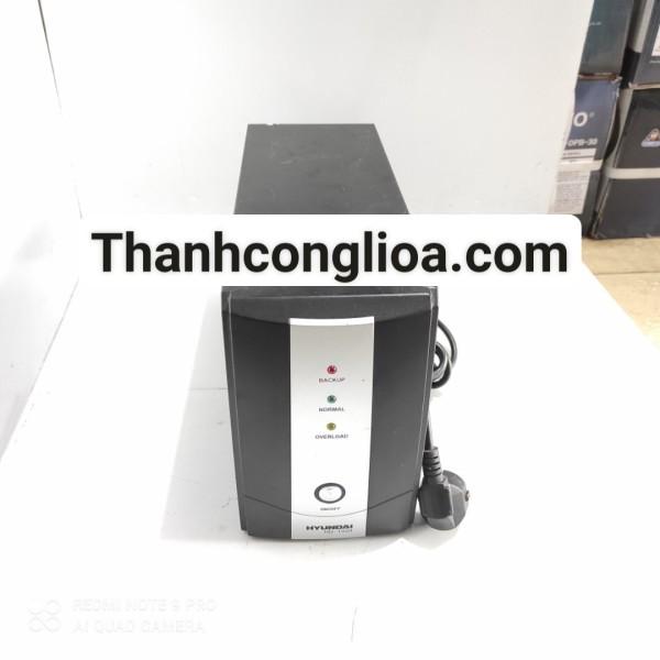 Bảng giá Bộ lưu điện ups Hyundai HD-1000; ups 1000va máy cũ main mạch zin nguyên bản đã thay thế 02 ắc quy mới bảo hành trọn bộ 12 tháng hỗ trợ sửa chữa giá siêu rẻ sau khi hết bảo hành Phong Vũ