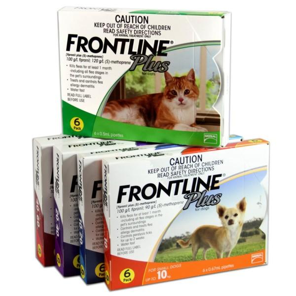 Nhỏ gáy  rận FRONTLINE chó mèo(chó 10-20kg)