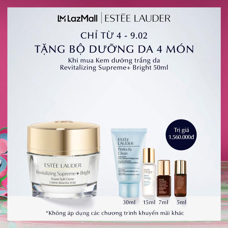 [MỚI] Kem dưỡng trắng và chống lão hóa Estee Lauder Revitalizing Supreme+ Bright Power Soft Crème - Moisturizer 50ml giá rẻ