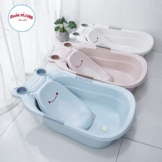 Chậu tắm cho bé - Thau tắm hình con ếch cho em bé , trẻ sơ sinh - bồn tắm cho bé 1