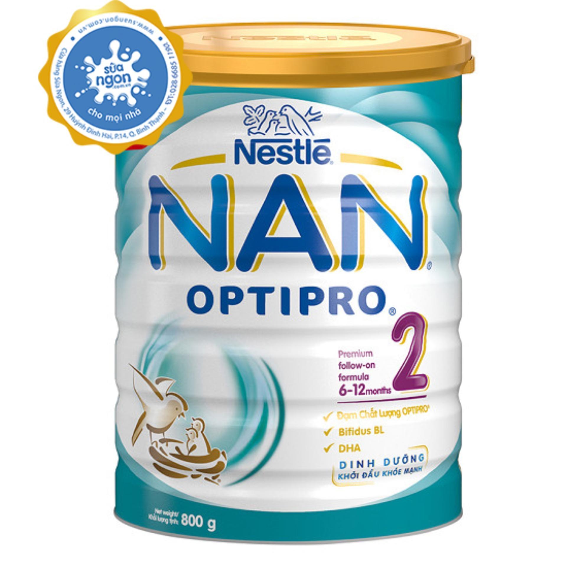 Sữa bột NAN Optipro 2 (800g)