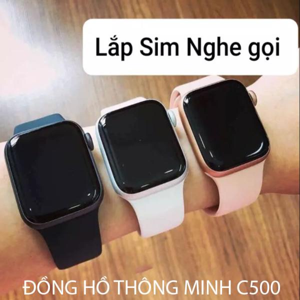 [XẢ HÀNG] Đồng hồ thông minh  Watch Series 6 - Đồng hồ thông minh z6,c500 smart watch thay được dây, kết nối Bluetooth lắp sim nghe gọi đàm thoại 2 chiều sử dụng như 1 chiếc điện thoại thông minh