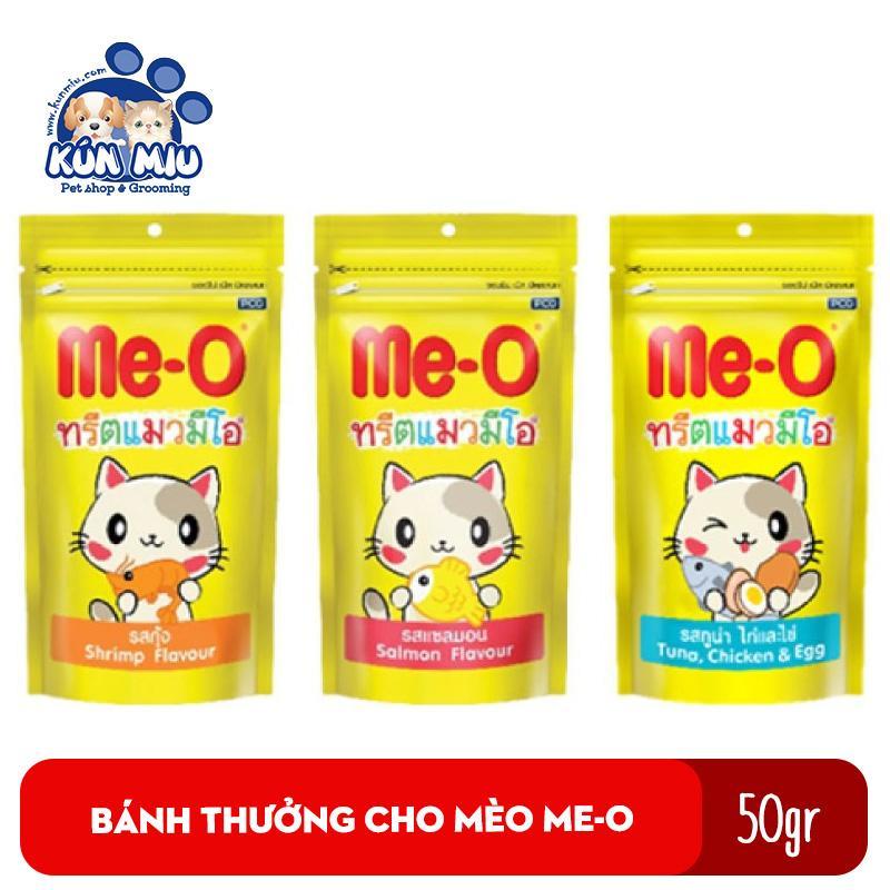 Bánh Thưởng Cho Mèo Me-o 50gr - Snack Thưởng Cho Mèo Me-o 50gr Giảm Cực Hot
