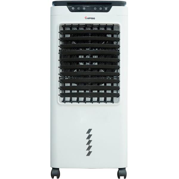 Quạt điều hòa không khí Rapido TURBO 6000-D - Công suất 80W, Dung tích khay chứa nước 45 Lít