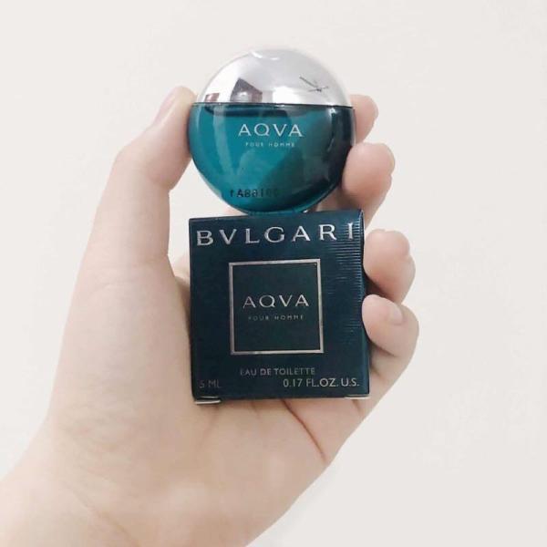 Nước hoa nam Bvlgari Aqva Pour Homme mini 5ml