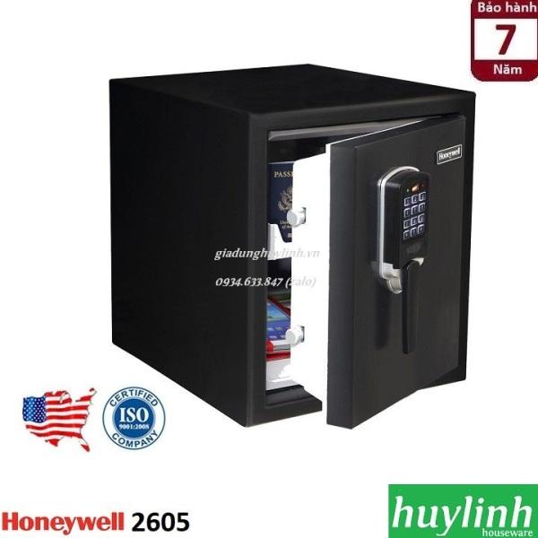 Két sắt điện tử chống cháy, chống nước Honeywell 2605 - thương hiệu Mỹ