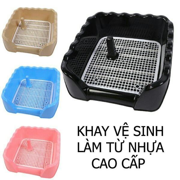 Khay Nhựa Vệ Sinh Cho Chó Mèo