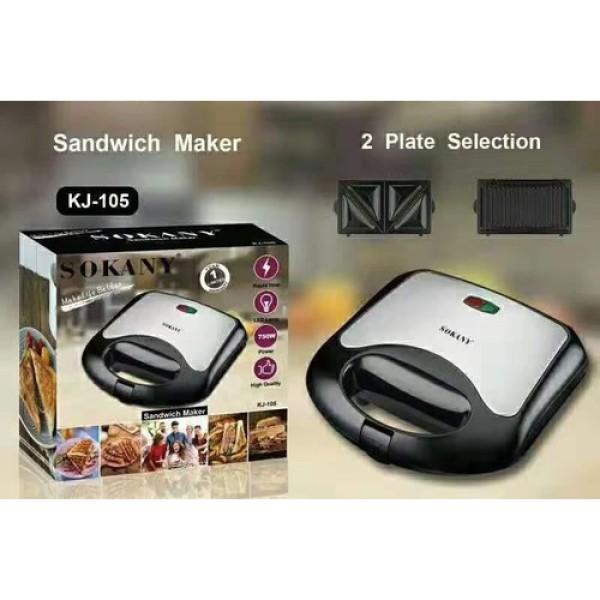 Máy làm bánh hotdog hoặc sandwith Sokany KJ-105