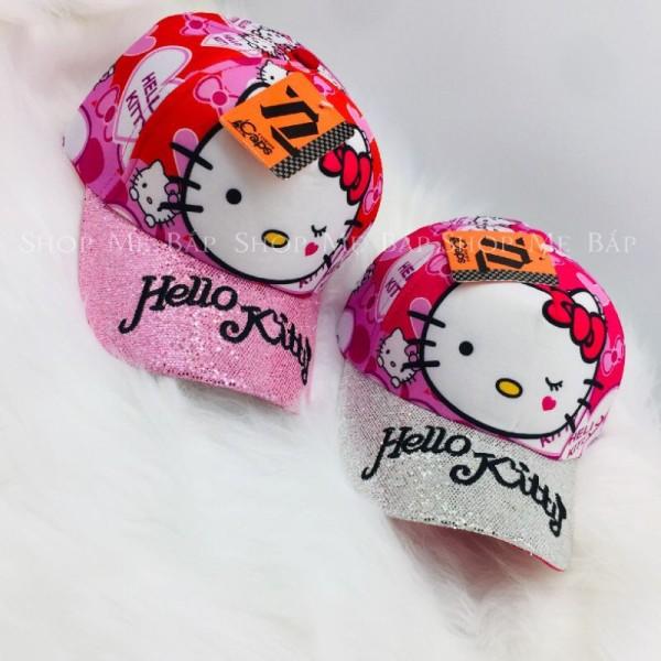 Giá bán Mũ, Nón Hello Kitty Kim Sa Siêu Dễ Thương Cho Bé Gái