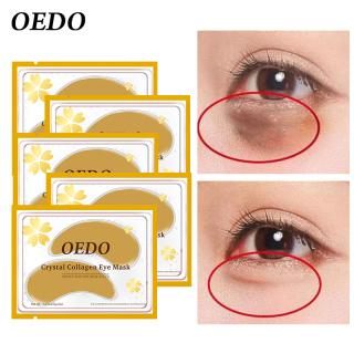 OEDO 5 miếng dán mắt Chăm Sóc Da Mắt Collagen pha lê vàng chống lão hóa Kem chống bọng mắt chống thâm quầng thumbnail