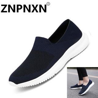 ZNPNXN Hàn Quốc Da Giày Cho Phụ Nữ Thời Trang Phẳng Giày Chạy Nhẹ Giày Và Không-Trượt Kích Thước 35-44