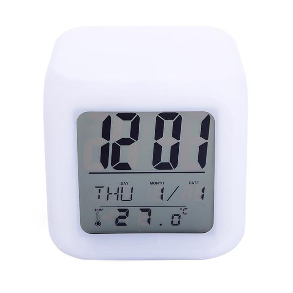 Nơi bán Đồng hồ báo thức có đèn LED đổi màu