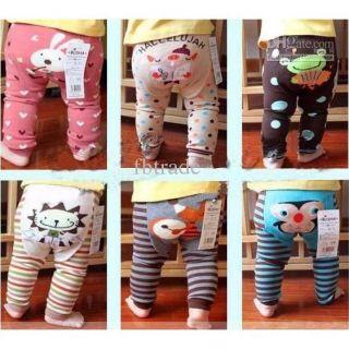 (SIÊU ĐẸP- NHIỀU MẪU) Quần legging mông thú cho bé- quần legging bé gái rất nhiều mẫu được giao ngẫu nhiên màu thumbnail