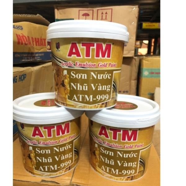 Sơn nước nhũ vàng ATM 999 (980g)