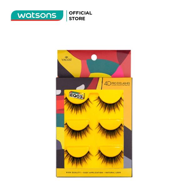 Mi Giả Vacosi 4D Pro Eyelashes 3 Cặp giá rẻ