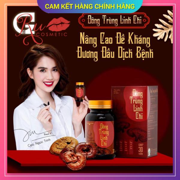 Đông Trùng Linh Chi - Hổ Trợ MIễn Dịch - Tăng Cường Sức Khỏe nhập khẩu