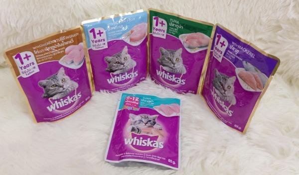 [Thu thập mã giảm thêm 30%] Pate Whiskas dành cho mèo con và mèo lớn 85g