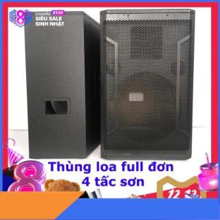 1 Thùng loa sơn PU full đơn bass 40cm họng treble vuông 350-450 hoặc 750 NOVIO PRO AUDIO thumbnail