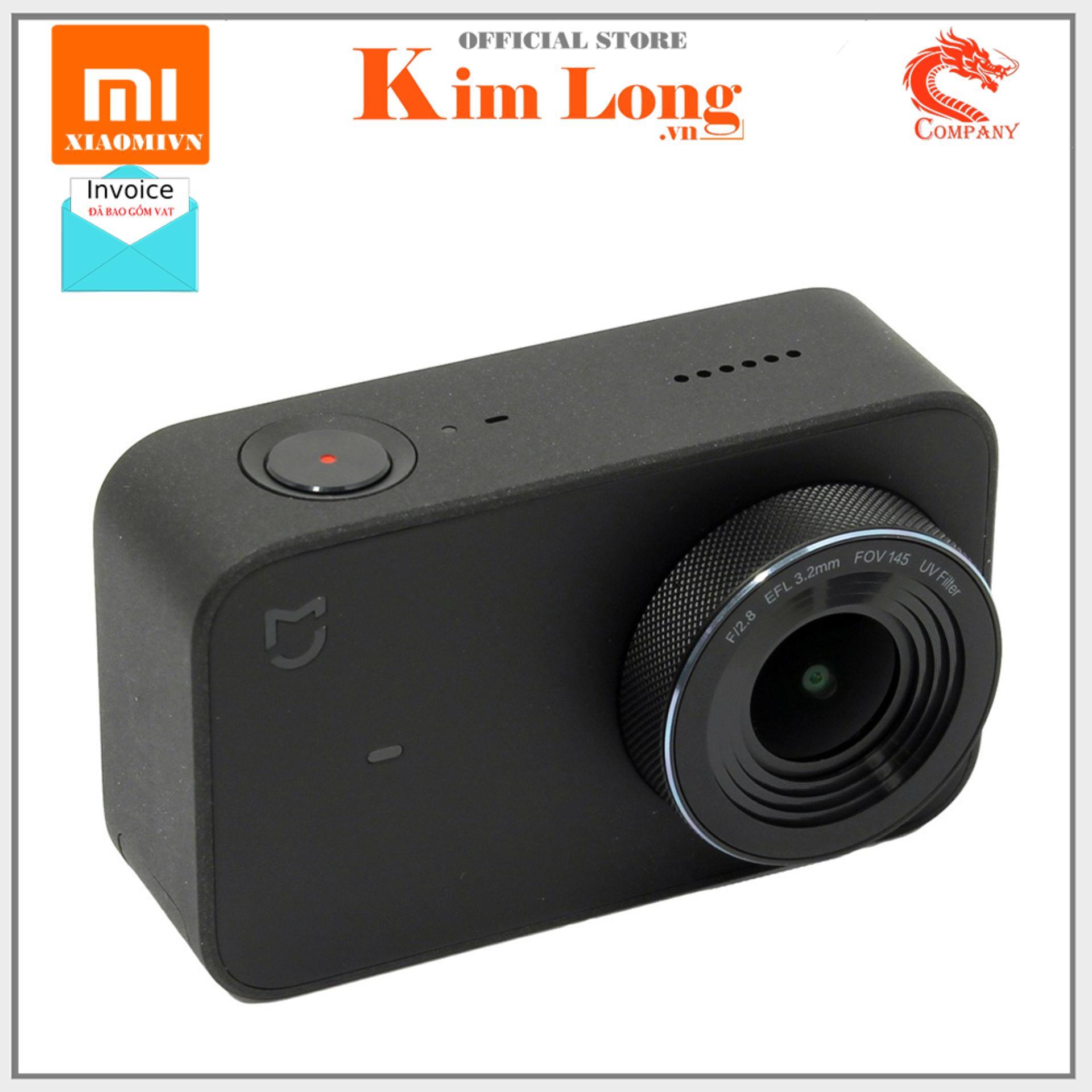 Camera hành động Xiaomi Mi Action Camera 4K Mini Bản quốc tế, ZRM4035GL - Chính hãng Digiworld