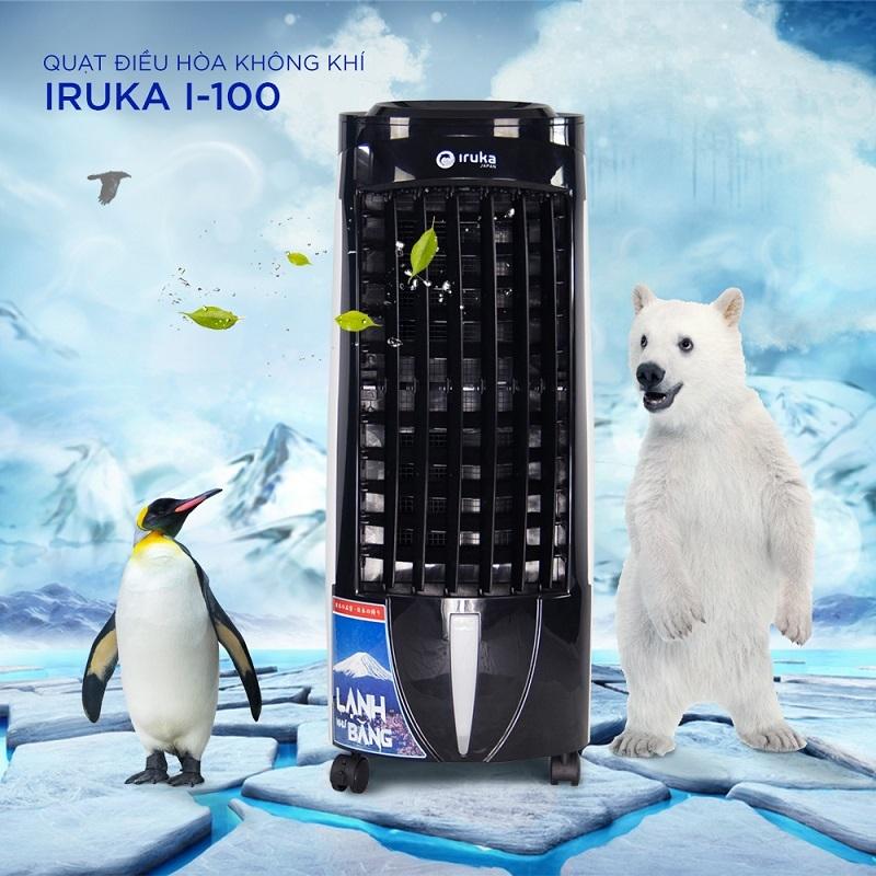 Bảng giá Quạt Hơi Nước IRUKA I100 - Công Suất 130W - Có Remote Điều Khiển - Màn Hình LCD Hiện Đại - Phân Phối Chính Thức Bởi IRUKA - Bảo Hành Chính Hãng 12 Tháng