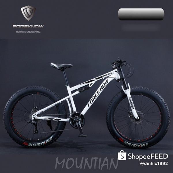 Mua Xe đạp thể thao bánh béo 2 phuộc nhún dành cho người lớn Foreknow FK24