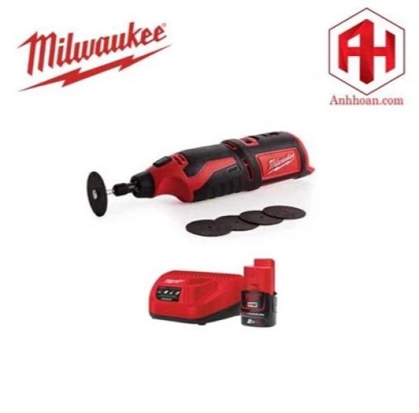 Milwaukee Bộ dụng cụ đa năng chạy pin 12V M12 C12 RT-201 (SET 1x2Ah)