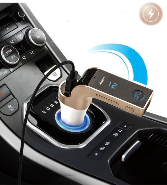 Tẩu Car G7 nghe nhạc, nghe điện thoại kiêm sạc điện thoại trên xe hơi