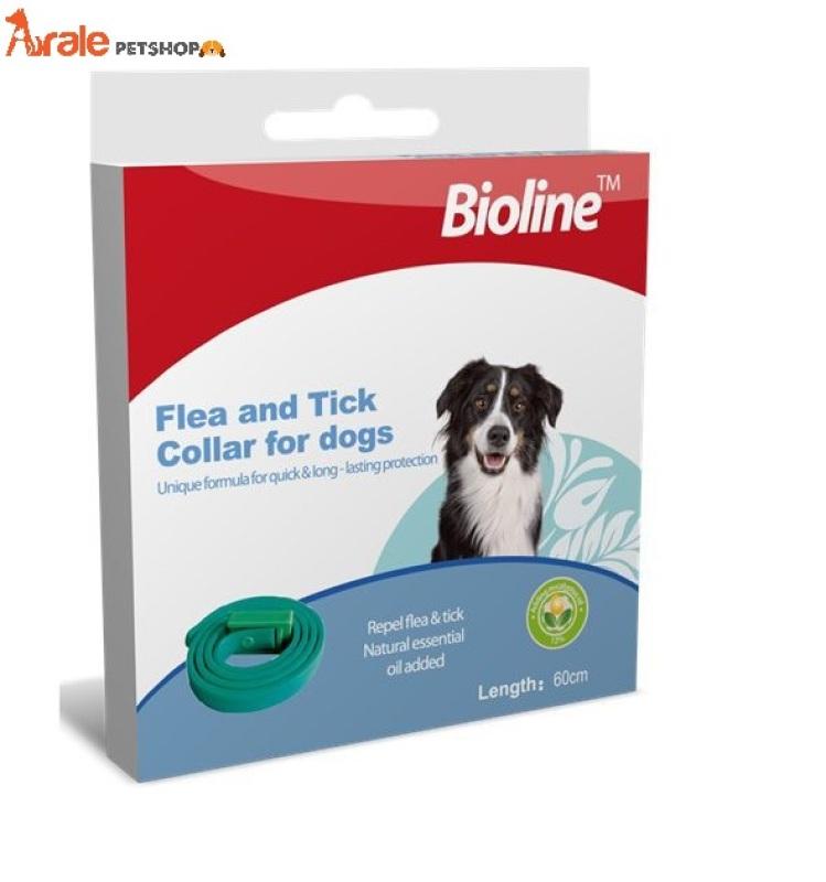 Vòng cổ loại bỏ ve rận chó mèo Bioline - An toàn, hiệu quả, dễ sử dụng-Aralepetshop