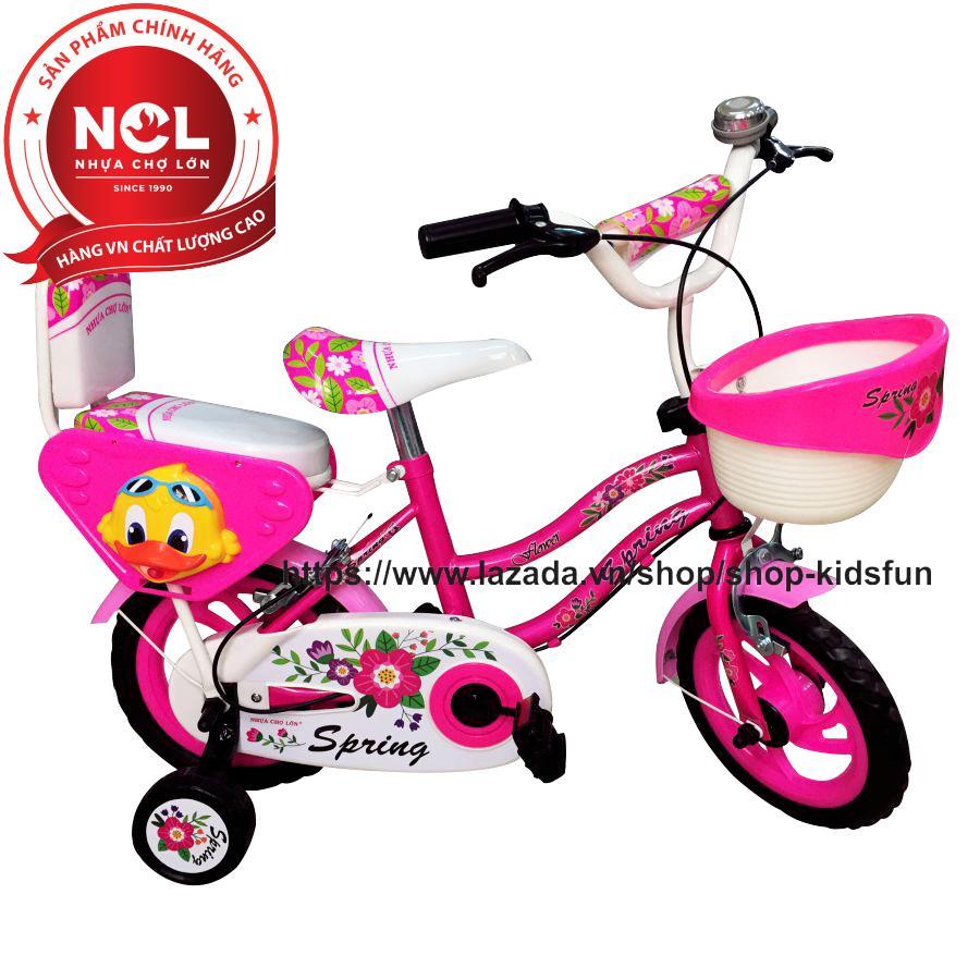 Mua Xe đạp trẻ em Nhựa Chợ Lớn 14 inch K99 - M1743-X2B