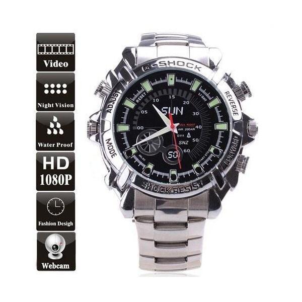 Đồng hồ đeo tay camera dây sắt - BTC01 bán chạy