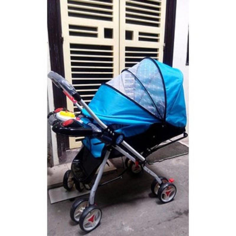 Xe đẩy em bé 2 chiều 3 tư thế TH109