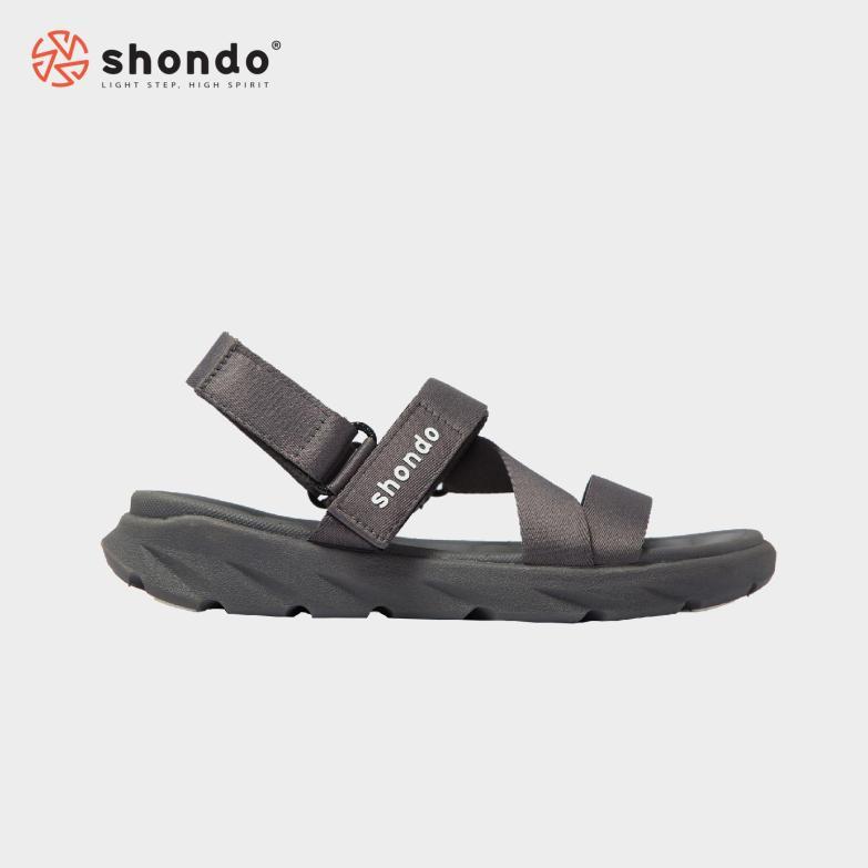Giày nữ Sandals SHONDO F6 Sport - F6S202 (Xám) giá rẻ