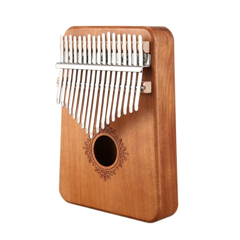 17 Keys Kalimba Piano Mahogany Musical Instrument
