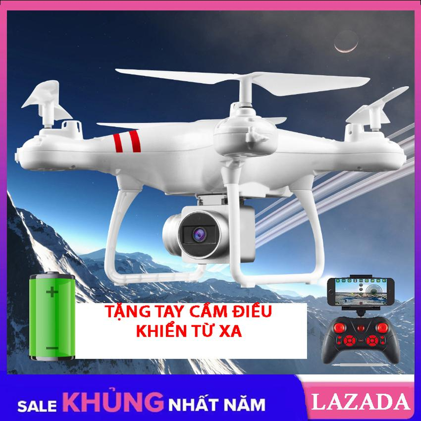 Siêu Giảm Giá Khi Mua Máy Bay điều Khiển Flycam KY101 - Flycam Giá Rẻ Khoảng Cách điều Khiển 100m Có Tay Cầm điều Khiển (Không Camera)
