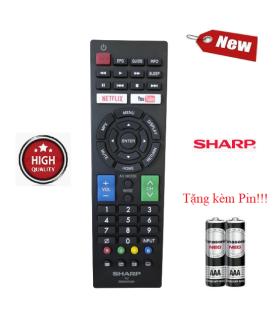 Điều khiển tivi Sharp GB234WJSA - Hàng mới chính hãng 100% Tặng kèm Pin thumbnail