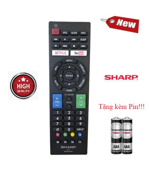 Bảng giá Điều khiển tivi Sharp GB234WJSA - Hàng mới chính hãng 100% Tặng kèm Pin!!!
