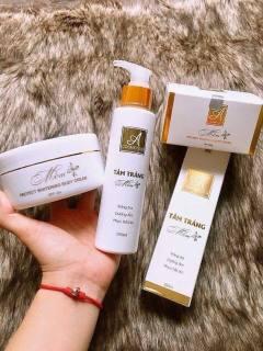 Combo tắm trắng và kem body mềm A Cosmetics hàng cty giúp da bật tông rõ rệt sau 7 - 10 ngày thumbnail