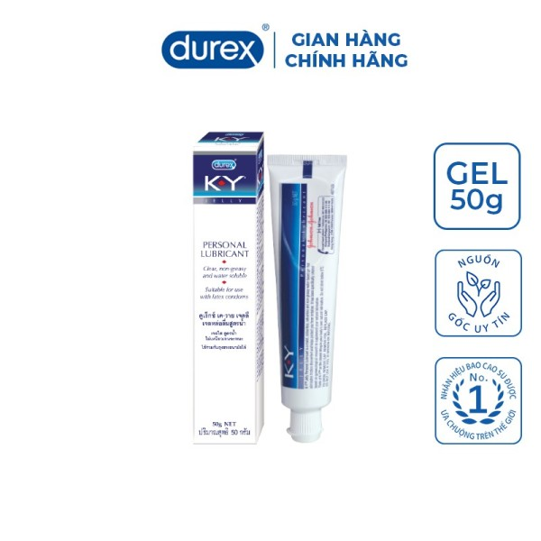 Gel bôi trơn Durex K-Y Jelly 50g giá rẻ
