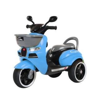 Xe máy điện moto 3 bánh CHIWA 2020 đồ chơi đạp ga cho bé vận động ngoài trời (Đỏ-Trắng-Vàng) thumbnail