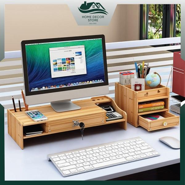 Bảng giá Kệ màn hình máy tính để bàn làm việc ZO8-S (Tặng kèm giá đỡ điện thoại) Phong Vũ