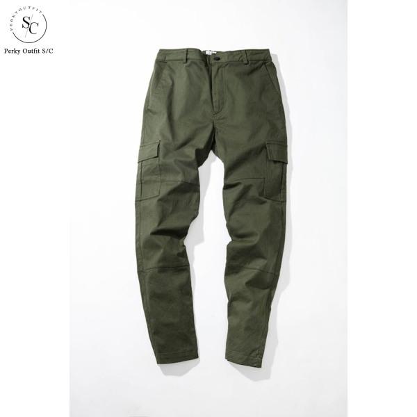 Quần Kaki nam cargo túi hộp Perky Outfit QKK005 - Chất liệu kaki co giãn cực tốt , thiết kế túi hộp năng đọng khoẻ khoắn