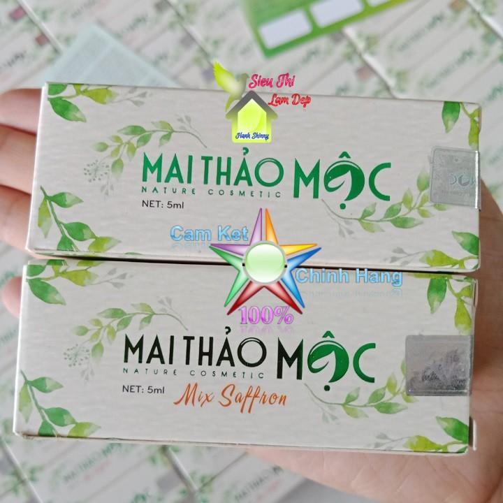 Combo MAI THẢO MỘC MIX và MAI THẢO MỘC NGUYÊN CHẤT Trị mụn và phục hồi da sau mụn tốt nhất