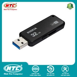 USB 3.2 Gen 1 Kioxia TransMemory U365 32GB 150Mb s (Đen) - Formerly Toshiba Memory - Nhất Tín Computer thumbnail